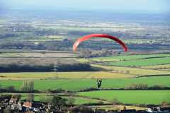 glider over Sussex